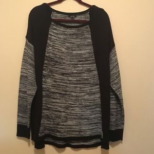 APT. 9 Black and Grey Sweater